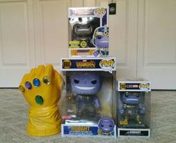 Funko Pop Marvel Avengers Infinity War Thanos LOT 10 Inch Th