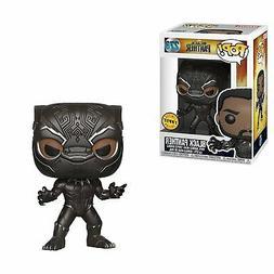 "Funko POP! Marvel Black Panther 3.75"" CHASE VARIANT Vinyl Fi"