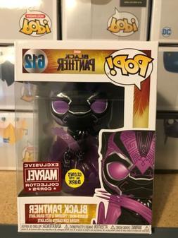 Funko Pop! Marvel Black Panther #612 Glow In The Dark Collec