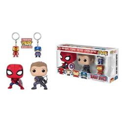 Funko Pop!Marvel Captain America Civil War 4 Pack Vinyl Acti