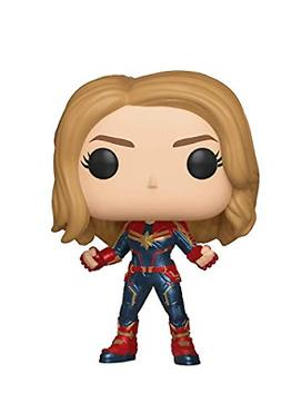 Funko Pop! Marvel: Captain Marvel Styles May Vary Toy, Multi