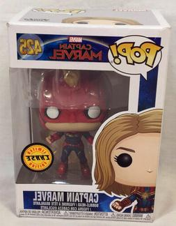 FUNKO Pop Marvel CAPTAIN MARVEL Unmasked #425 4in Vinyl Figu