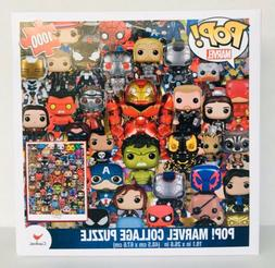 Funko POP! MARVEL COLLAGE PUZZLE 1000 Pieces New Sealed 👍