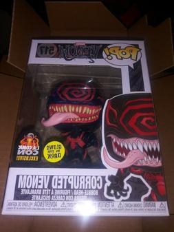 "Funko POP! ""Marvel"" Corrupted Venom GLOW IN THE DARK"