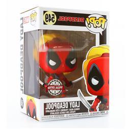 Funko POP! Marvel Deadpool #549 - Lady Deadpool Special Edit