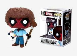 Funko Pop Marvel: Deadpool as Bob Ross Vinyl Bobble-Head #30