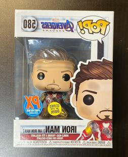 Funko POP Marvel Endgame I Am Iron Man Glows In The Dark PX