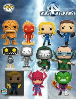 Funko Pop Marvel Fantastic Four PRE-ORDER Doom Galactus Surf