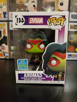 Funko Pop! Marvel Gamora #441 2019 SDCC Exclusive Bobblehead