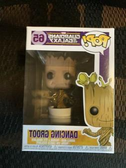 Funko POP! Marvel GOTG Dancing Groot 65 Vaulted/Retired - NE