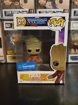 Funko Pop! Marvel Guardians GOTG Vol 2 Groot #212 Walmart WI