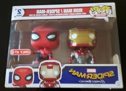 FUNKO POP! MARVEL ~ IRON MAN & SPIDER-MAN ~ HOMECOMING TARGE