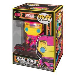 Funko POP! Marvel - Iron Man Black Light Special Edition Exc