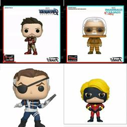 Funko Pop Marvel NYCC 2019 Shared Sticker Exclusives Bundle