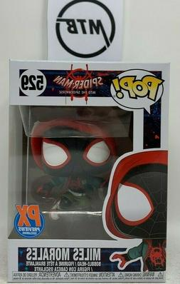 FUNKO POP MARVEL SPIDER MAN INTO THE SPIDERVERSE MILES MORAL