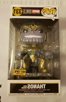 Funko POP! Marvel Studios 10 Year Thanos With Throne #331 Ho