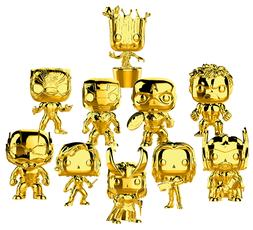 Funko Pop! Marvel Studios: The First Ten Years - Gold Chrome
