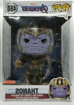 Funko Pop! Marvel Target Exclusive 10 Inch Thanos holding Bl