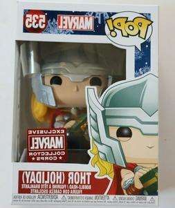 pop marvel thor holiday collector corps 535