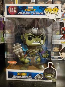 "Funko Pop! Marvel Thor Ragnarok 10"" Inch Hulk #241 Target Ex"