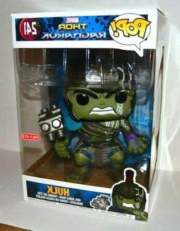 "Funko POP! Marvel Thor Ragnarok Hulk 10"" Inch #241 Vinyl Fig"