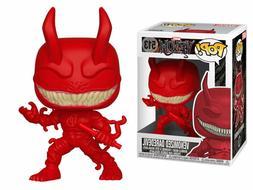 Funko Pop Marvel Venomized Daredevil  NIB W/ Pop Protector N