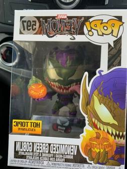Funko Pop Marvel Venomized Green Goblin #597 Hot Topic Exclu