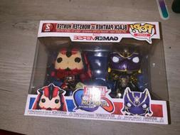 Funko Pop Marvel Vs Capcom Black Panther VS Monster Hunter 2