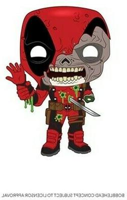 Funko Pop Marvel Zombies: Zombie Deadpool Bobble-Head #49126