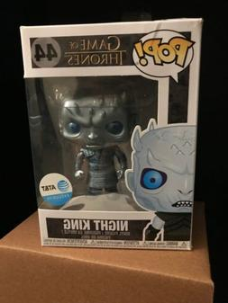 Funko Pop Metallic Night King AT&T Exclusive Game of Thrones