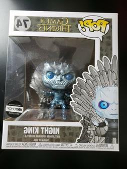 Funko Pop Metallic Night King On Throne Game Of Thrones HBO