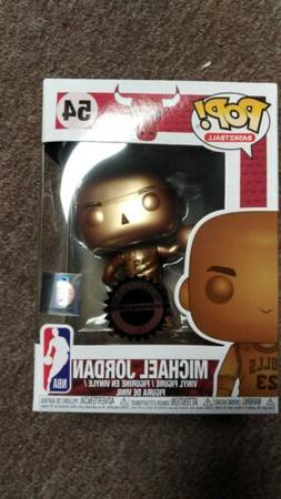 Funko pop Michael jordan bronze hobbiestock exclusive In sto