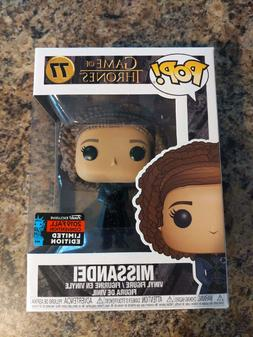 Funko Pop Missandei Game of Thrones NYCC Exclusive Comes W/