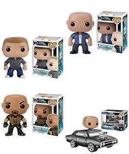 Pop! Movies: Fast & Furious Dom Toretto, Luke Hobbs, Brian O