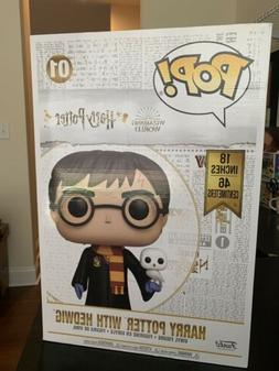 Funko POP Movies Harry Potter 18 inch with Hedwig - IN STOCK