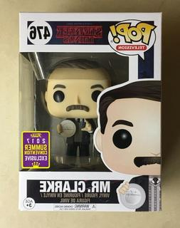 Funko POP Mr. Clarke Stranger Things 2017 SDCC Exclusive Vin