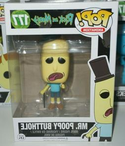 Funko Pop Mr Poopy Butthole #177 Rick and Morty Brand New