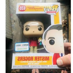 Funko Pop Mr. Rogers 635 with King Hand Puppet Barnes Noble