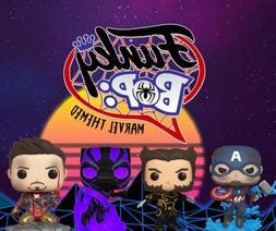 Funko Mystery Pop Figurine! Marvel Themed (Grails+Vaults+Mor