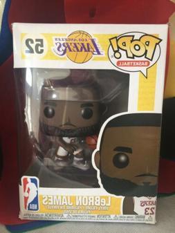 Funko Pop NBA LA Lakers LeBron James White Uniform Vinyl Fig