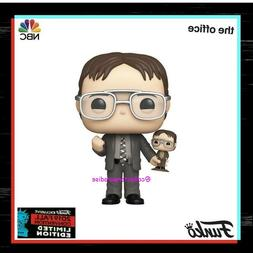 Funko Pop! NYCC 2019 The Office Dwight Schrute Holding His B