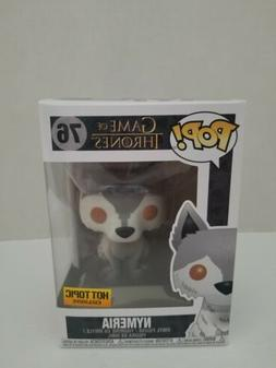 Funko Pop Nymeria Game of Thrones #76 Hot Topic Exclusive Do