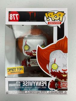 Funko POP Pennywise with Skateboard IT Chapter Two POP Movie