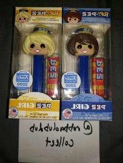 Funko Pop Pez Girls Bundle Blonde and Blue LE 2000 Funko Sho