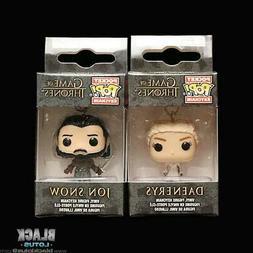 Funko Pop! Pocket Keychain Daenerys Targaryen Jon Snow White