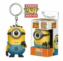 Funko Pop! Pocket Keychains Minions Carl Despicable Me 3 Acc