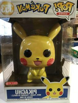 "Funko Pop! Pokemon Pikachu 10"" Inch Target Exclusive IN ST"