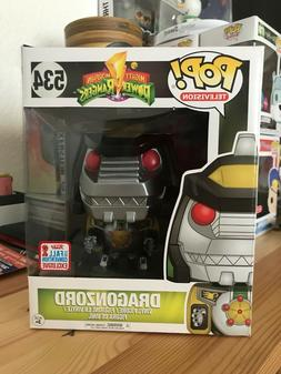 "Funko Pop! Power Rangers Dragonzord 6"" NYCC Fall 2017 Conven"