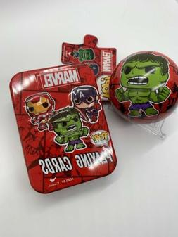 Funko POP Puzzle And Playing Cards Tin Marvel