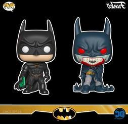 Funko Pop! Red Rain Batman  Batman  80th Anniversary